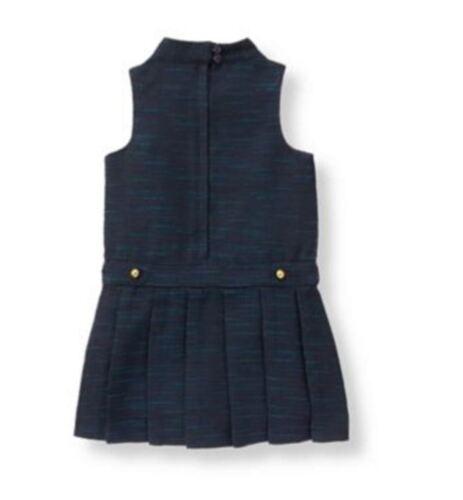 NWT $59 Janie /& Jack RIDING LESSON 18 24 M 2T 5 6 Boucle Jumper Navy Blue Dress