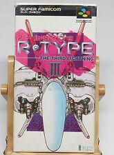 R-Type III The Third Lightning 3 Super Famicom Japan JPN * Good Condition