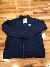 caf09b6c3 Nike NSW Syn Fill Jacket Hooded Men 861786-429 Navy White Regular S ...