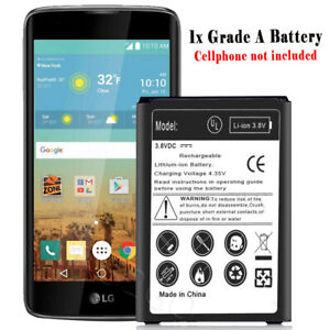 Upgraded 2570mah Displaceable Battery For Lg Treasure Lte L51al Android Phone Ebay