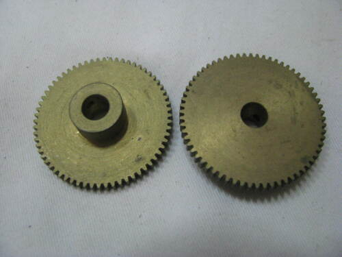ref 17 2 Spur Gears laiton 48DP 64 Dents-vendu comme une paire