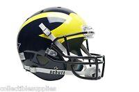 Michigan Wolverines Schutt Full Size Football Helmet