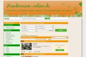Top-Domain:  Hundereisen-online.de  - Super für Affiliate-Projekt