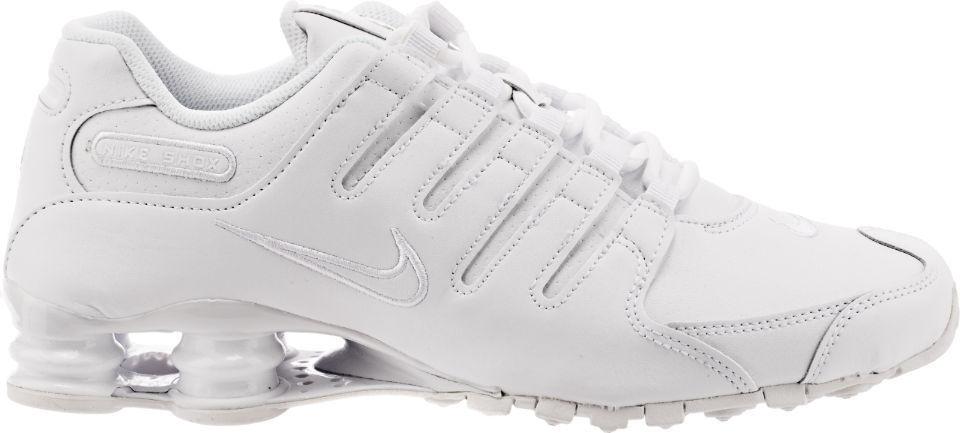 Size 6   12   12.5 Nike Men Shox NZ Running shoes 378341 128 White