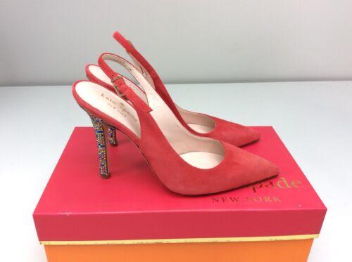 rouge étincelles Kate Spade pompe Lillian multicolore 8 brillantes Poppy Escarpin Taille à à wrIz1rq