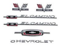 66 El Camino 396 Emblem Kit