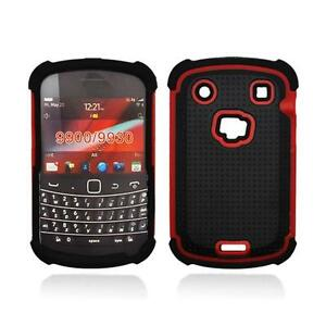 Black-With-Red-Hybrid-Hard-Case-Cover-for-Blackberry-Bold-Touch-9900-9930