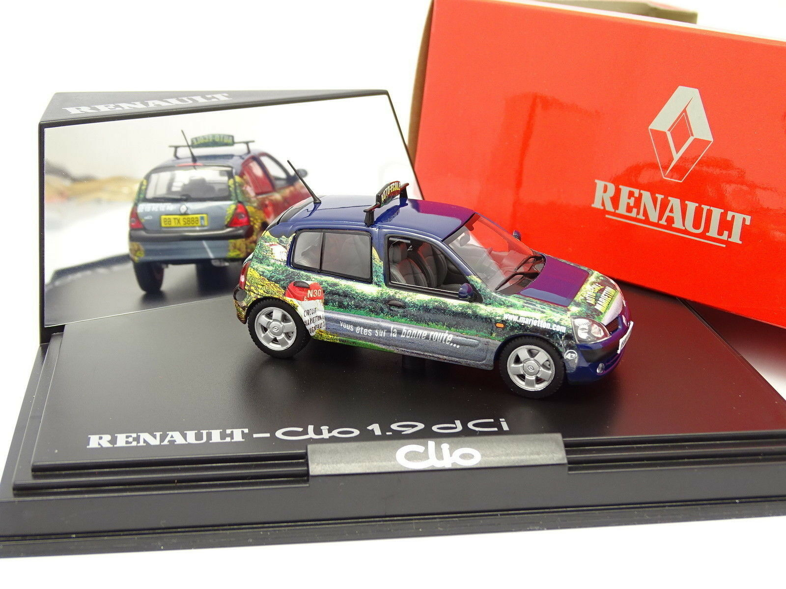Norev 1 43 - Renault Clio 1.9 DCI Auto Ecole