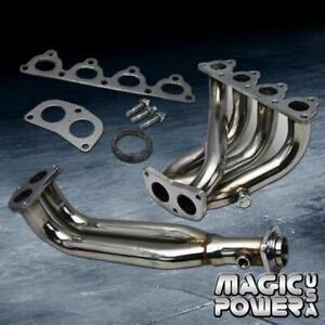 1.6L SOHC D15 D16 Stainless Steel Header Honda Civic 1988-2000 1.5L