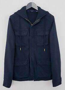 Men-Ted-Baker-Hooded-Hoodie-Zip-Front-Cotton-Blend-4-M-XMN163