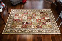 Quality Royal Traditional Beige Oriental Rug Design Wool Multi Co M - Xxl 35%off