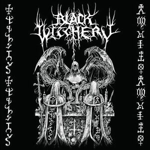 Black-witchery-revenge-holocaustic-Death-March-CD-NEUF