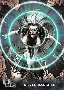 SILVER-BANSHEE-DC-Comics-Super-Villains-Cryptozoic-2015-BASE-Trading-Card-54