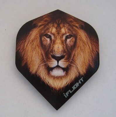 """Ruthless Invincible Extra Strong Dart Flights  """"Lion"""""""