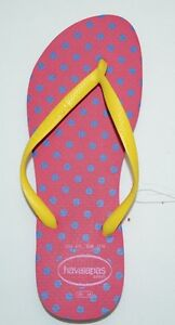 171a13d72 Image is loading Havaianas-Slim-Fresh-Flip-Flop-Thong-Rubber-Sandals-
