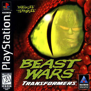 Beast Wars Transformers PS1 Great Condition Complete Fast Shipping