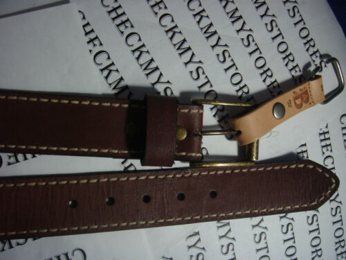 NWT NEW WILL LEATHER GOODS BILL ADLER BELT GENUINE LEATHER SUPERIOR QUALITY