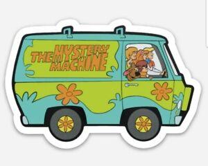 Scooby Doo Mystery Machine Vinyl MAGNET - Waterproof! Free Shipping!