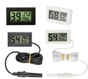 Digital LCD Indoor Temperature Humidity Meter Thermometer Hygrometer UK