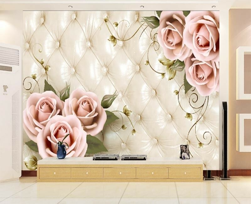 Special Pulpy Peach 3D Full Wall Mural Photo Wallpaper Printing Home Kids Decor