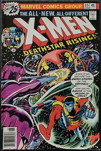 Uncanny-X-Men-99-FN-VF-7-0-Claremont-Storm-Wolverine-Cyclops-Sentinels-1976