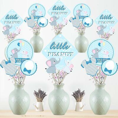 Mesa De Baby Shower.Centros De Mesa 24 Palos De La Pieza Central Para Baby Shower Fiestas Nino Boy 711647245432 Ebay