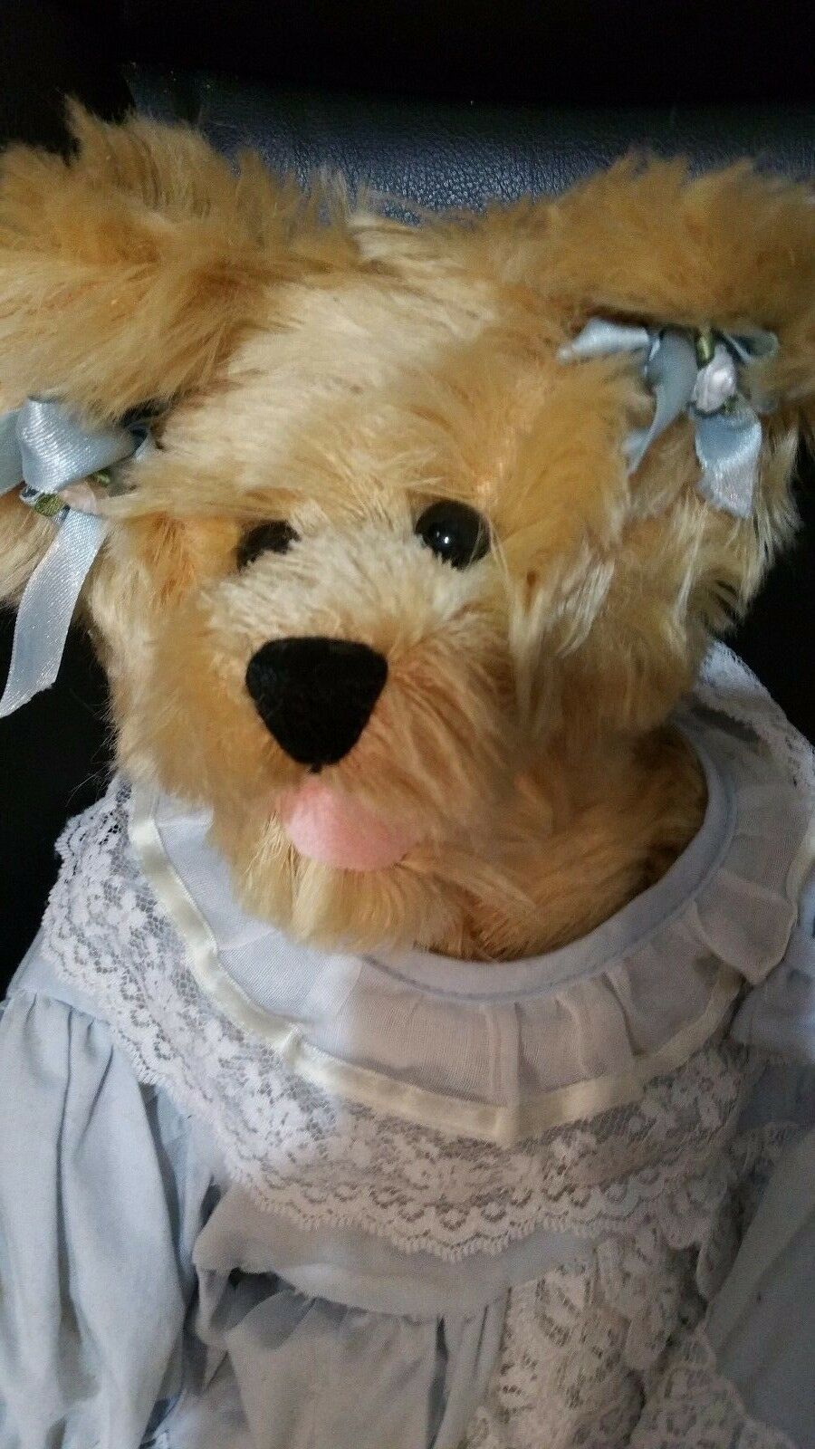 GigglesBear with Beautiful dress and Diaper from Forever Friends by Lori Nerdahl