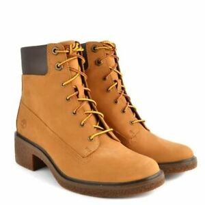 Ankle Boot 8.5 Yellow Nubuck leather
