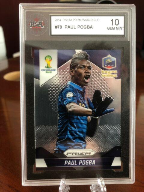 2014 Panini Prizm World Cup #79 Paul Pogba France - KSA 10 Gem Mint