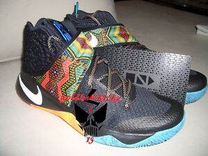 Image is loading Nike-KYRIE-2-BHM-Black-History-Month-Limited-