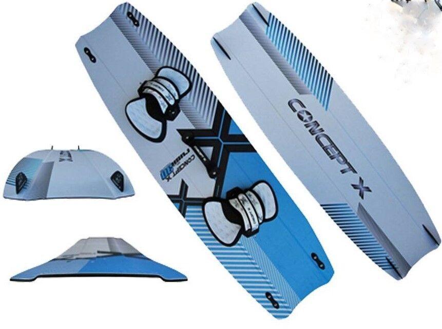 Concept x Kiteboard Rush 3d; 140 x 42 cm kite Board, super ligero, nuevo