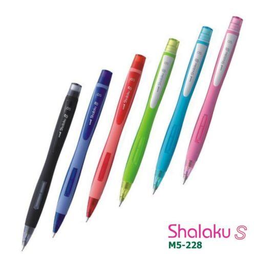 2 x uni-ball shalaku m5-228 0.5mm mechanisch Bleistift 6 vers Körper col /& Mix