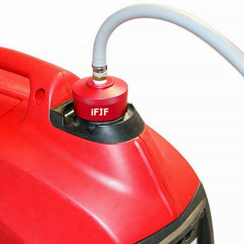 New Extended Run Gas Cap fit Honda Generator EU1000i EU2000i Aluminum Painted
