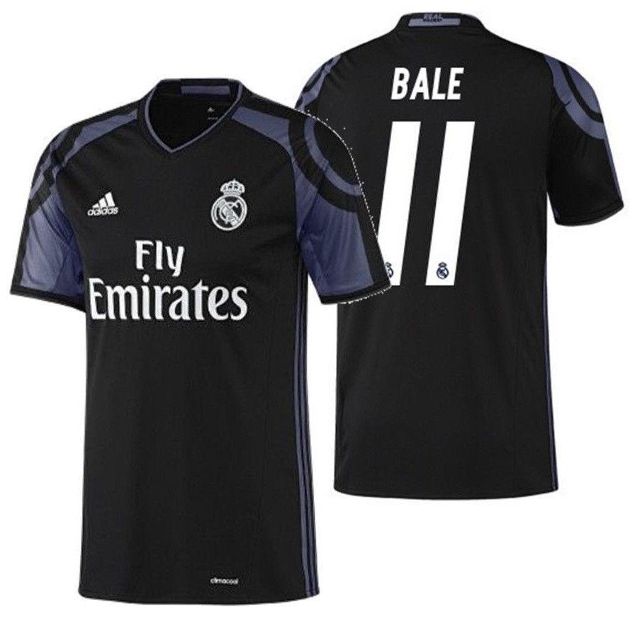 Adidas Gareth Bale Real Madrid Tercera Camiseta 2016 17
