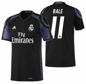 5b8e41b39 Image is loading ADIDAS-GARETH-BALE-REAL-MADRID-THIRD-JERSEY-2016-