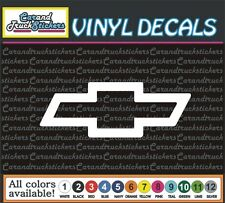 "Chevrolet Chevy Bowtie auto Car Truck window wall vinyl sticker decal 8"""