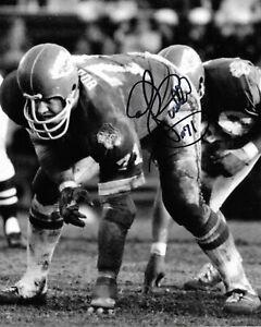 "ED BUDDE Autographed Signed 8"" x 10"" Photo Kansas City Chiefs Football COA"