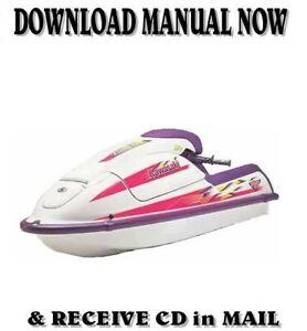1992-98 Kawasaki Jet Ski J Series factory repair shop service manual on CD