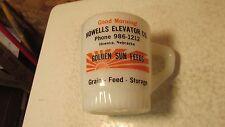 Fire King Golden Sun Feeds Howells Nebraska Mug  No. 2