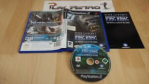 PLAY-STATION-2-PS2-PETER-JACKSON-039-S-KING-KONG-COMPLETO-PAL-ESPANA