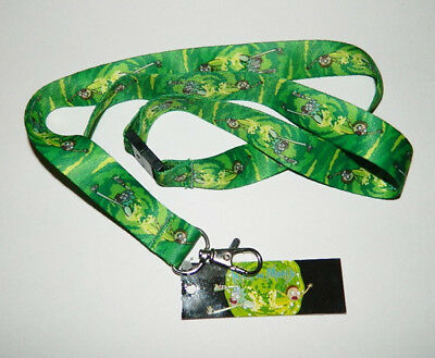 """Rick and Morty Animated TV Series Blips and Chitz Logo 18/"""" Lanyard NEW UNUSED"""