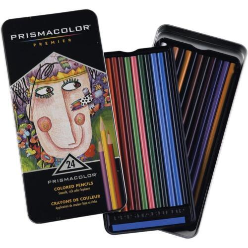 #1753428 24 New PRISMACOLOR Premier Colored Pencils