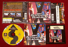 *Complete* PS1 ESPN STREET GAMES NTSC-J Japan Import PlayStation Extreme Xtreme
