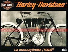 HARLEY DAVIDSON Monocylindre 1903 ; Arlen NESS ; L'origine du réservoir MOTO HD