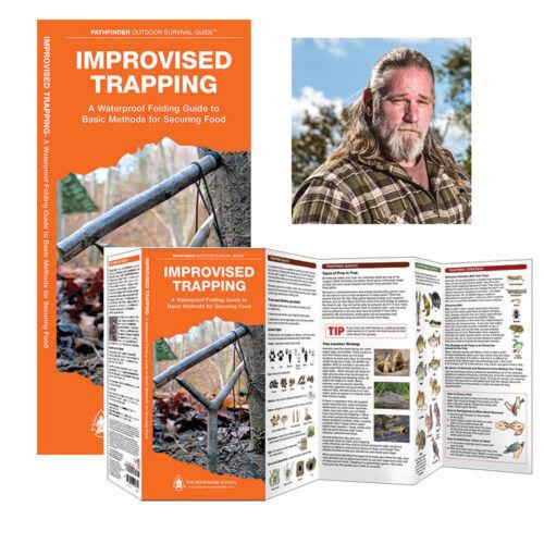 Improvisée Piégeage Pathfinder Outdoor Survival Guide ® Eau /& Tear Proof
