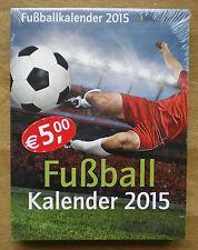Fußball Kalender 2015, Fußballkalender, ovp, interessante Infos, lustige Sprüche