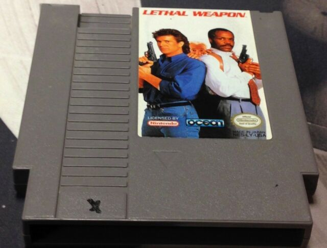 Lethal Weapon (Nintendo Entertainment System, 1993) ***CARTRIDGE ONLY***