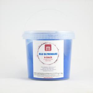 BLU OLTREMARE Pigmenti tradizionali in polvere per calce Barattolo 1 kg