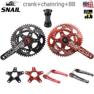 Road-Bike-Crankset-Sprocket-Double-110BCD-50T-35T-BB-Oval-Fit-Sram-Shimano-FSA