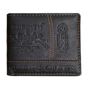 Porte-monnaie-pour-homme-en-cuir-veritable-Portefeuille-Portefeuille-Slim